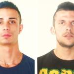 Gaetano Menzo e Roberto Schembri, i due arrestati