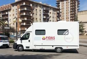 L'autoemoteca della Fidas