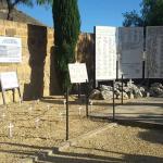 Il cimitero ripulito