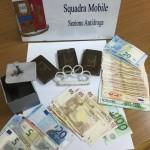 La droga sequestrata dalla Polizia