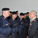 Il generale Ricciardi incontra i carabinieri