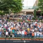 Il pubblico al Tennis Club di villa Amedeo