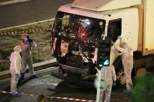 Il camion dell'attentatore