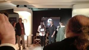 La premiazione della regista a Venezia