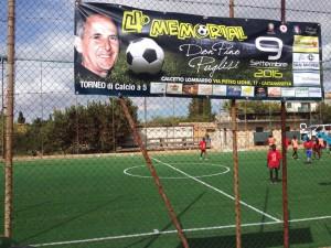 Il torneo è dedicato alla memoria di don Pino Puglisi