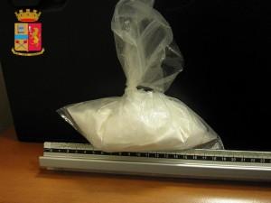 La droga trovata dalla Polizia