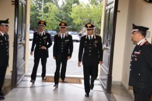 L'arrivo a Caltanissetta di Del Sette e altri ufficiali
